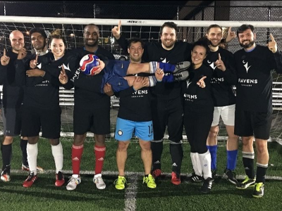 Photo for the news post: Ravens Coed Soccer Leagues are back!