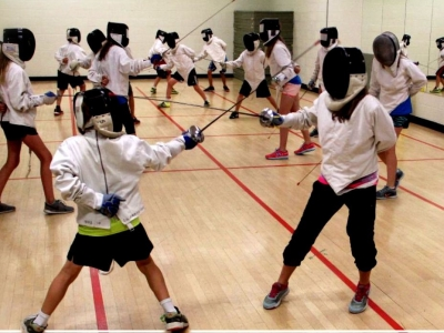 Photo for the news post: Ravens Fencing Camp