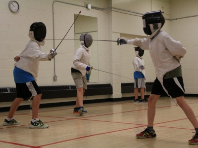 Photo for the news post: Junior Ravens Fencing