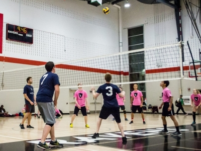 Photo for the news post: Ravens Intramurals are a welcome return to campus
