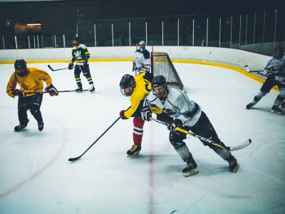 Photo for the news post: Intramural Ice Hockey