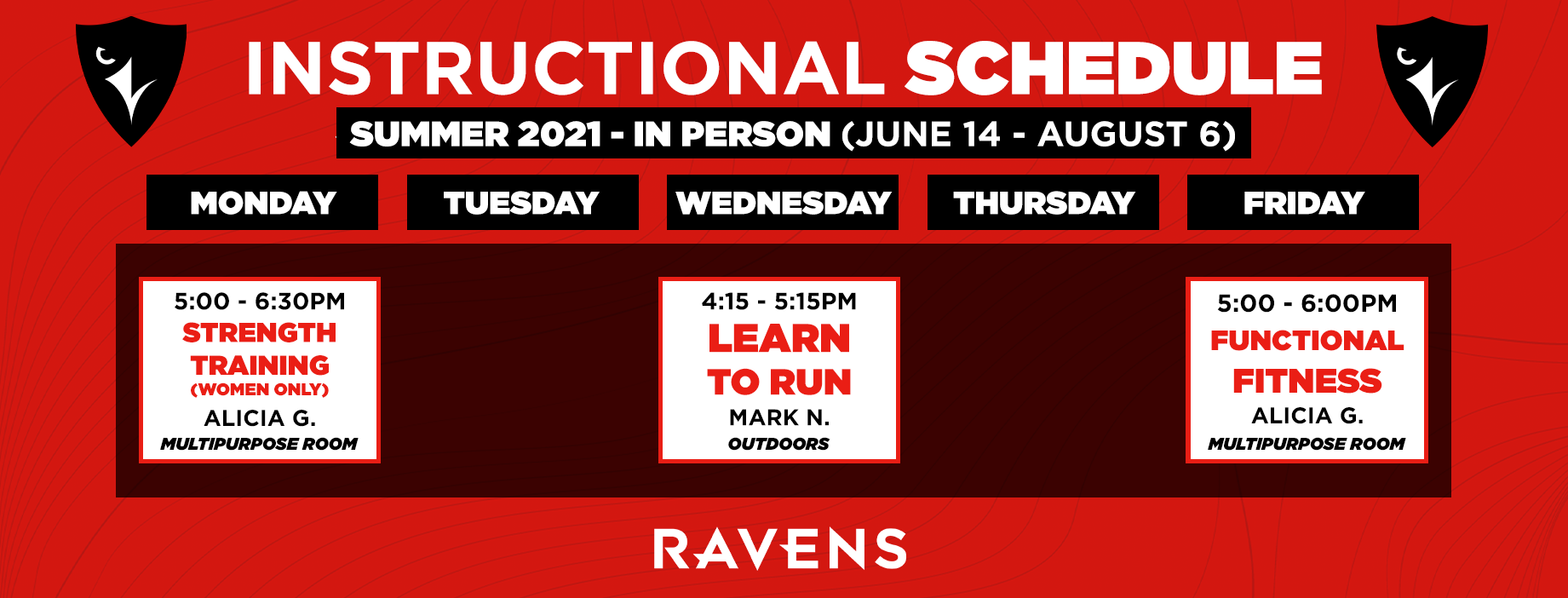INSTRUCTIONAL SCHED