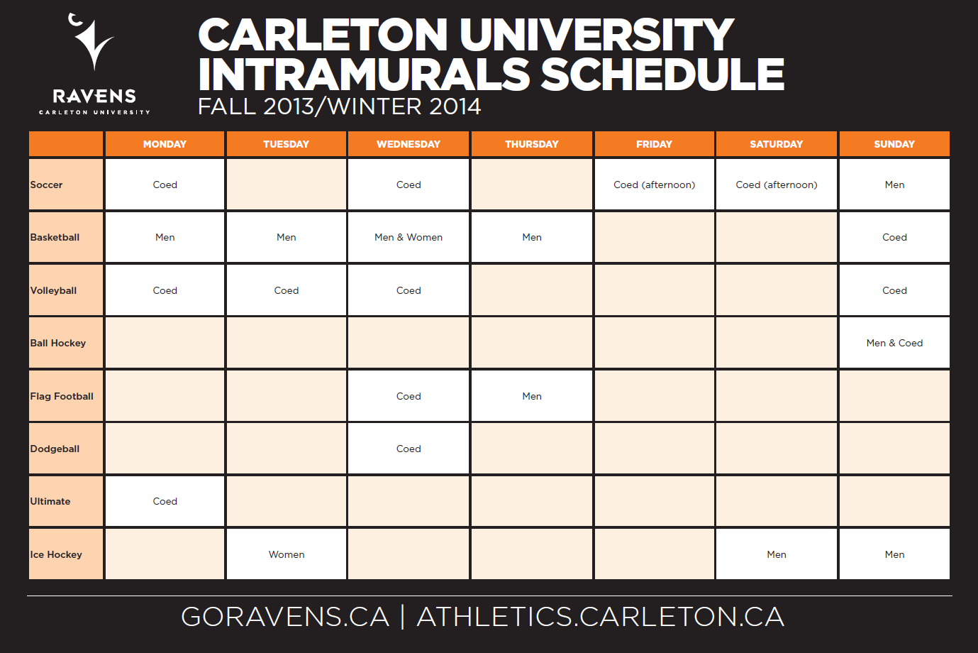 Intramurals Carleton Athletics