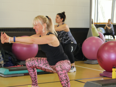Photo for the news post: Staff Fitness Classes Open House & Contest