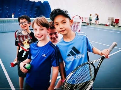 Photo for the news post: April Break Tennis Camp