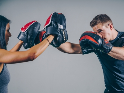 Photo for the news post: Kickboxing FUNdamentals