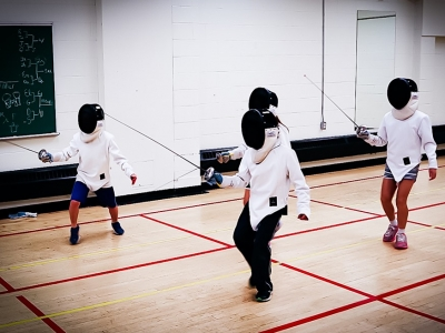 Photo for the news post: Ravens Fencing Camp (Ages 7-12)