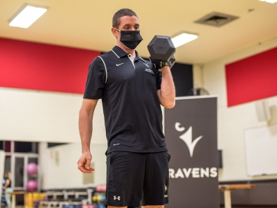 Photo for the news post: Masks required in Fitness Centre