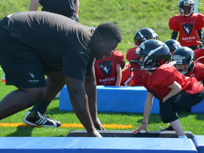 Photo for the news post: Ravens Football Camp (NEW)