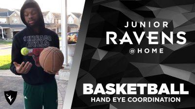 Thumbnail for: Junior Ravens Basketball – Hand-eye coordination