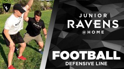 Thumbnail for: Junior Ravens Football – Defensive Line
