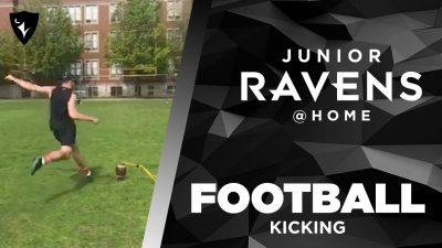 Thumbnail for: Junior Ravens Football – Field Goal Kicking