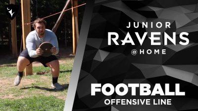Thumbnail for: Junior Ravens Football – Offensive Line