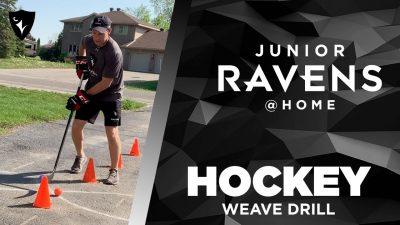 Thumbnail for: Junior Ravens Hockey – Weave Drill