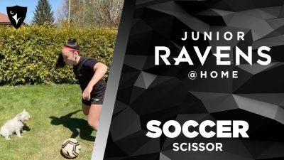 Thumbnail for: Junior Ravens Soccer – Scissor