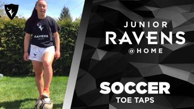 Thumbnail for: Junior Ravens Soccer – Toe Taps