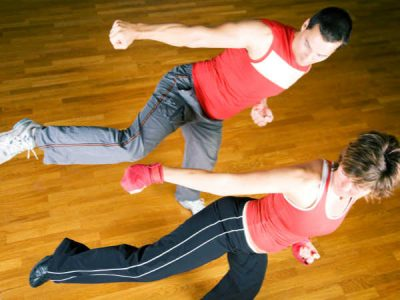 Photo for the news post: Aerobic Kickboxing