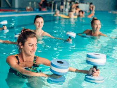 Photo for the news post: Aquatic Fitness (Deep End) – Swimnastics