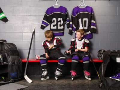 Photo for the news post: Ravens Hockey Camp