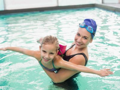 Photo for the news post: Parent Fitness Swims