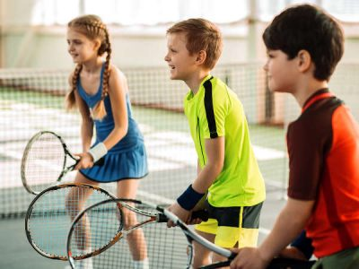 Photo for the news post: Ravens Tennis Camp