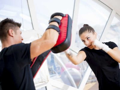 Photo for the news post: Dynamic Kickboxing (Women's Only)
