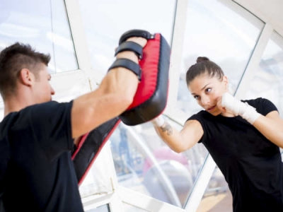 Photo for the news post: Boxing Boot camp