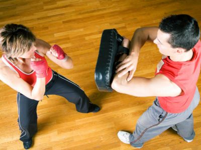 Photo for the news post: Intermediate Dynamic Kickboxing (Women's Only)