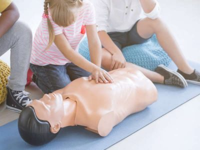 Photo for the news post: Bronze Cross with Standard First Aid & CPR-C AED