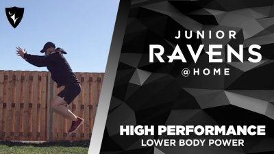 Thumbnail for: Ravens Elite High Performance – Lower Body Power