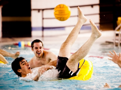 Photo for the news post: Intramural Inner-Tube Water Polo